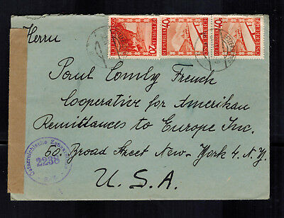 Systematic 1948 Getzersdorf Austria Correo Aéreo Cubierta A Eeuu Americano Remittances Chills And Pains Europe Stamps