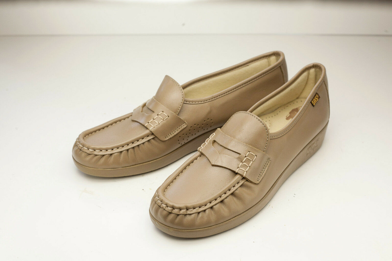 SAS 8 Slim Brown Slip On Women's shoes