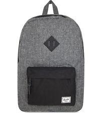 Brand New Herschel Supply Co Heritage Raven Crosshatch Rucksack Laptop Bag