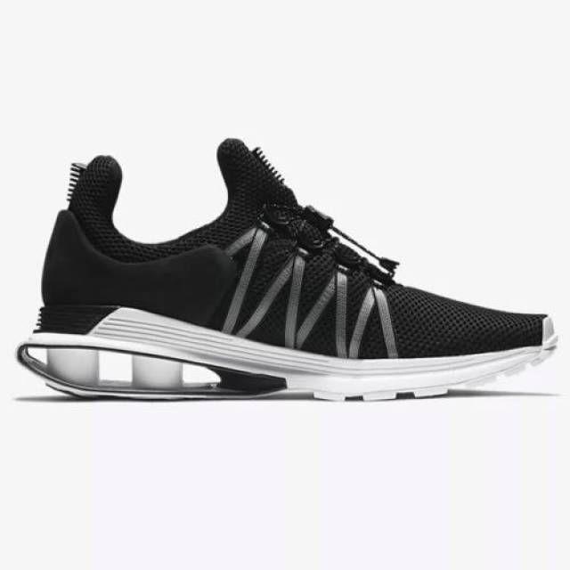 Nike shox ernst schwarz - weiße, weiße männer sz 10 ar1999-002
