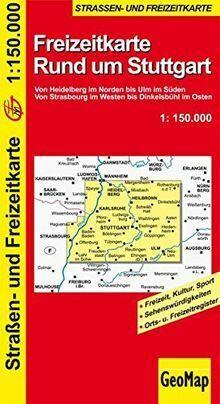 GeoMap Karten, Rund um Stuttgart: Von Heidelberg im Nord...   Buch   Zustand gut