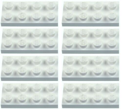Missing Lego Brick 3020 White x 8 Plate 2 x 4