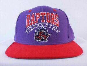 Toronto Raptors NBA Adidas Retro Snapback Cap Hat Red Purple Fan Apparel & Souvenirs Sports Mem, Cards & Fan Shop