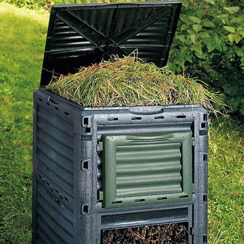Thermokomposter Komposter 300L Gartenkomposter Kompost Behälter Schnellkomposter