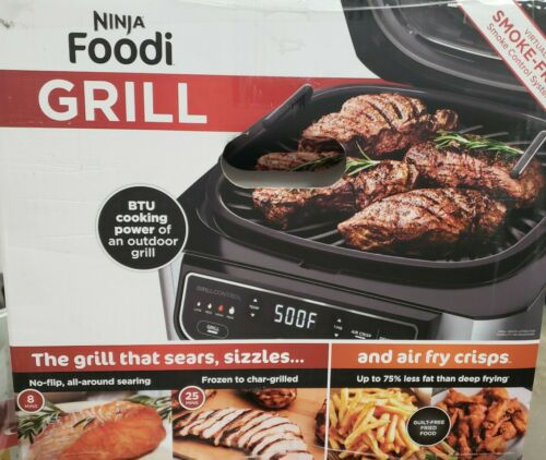 in-1 Indoor Grill IG301A Ninja Foodi 5