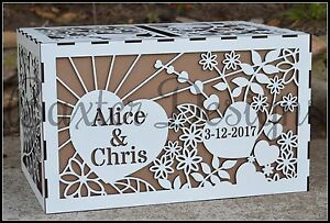 Wooden-Wedding-Engagement-Party-Card-Wishing-Well-Box-Raw-Painted