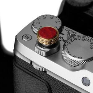 Gariz Soft Release Shutter Button Auslöser Auslöseknopf für KameraSilber