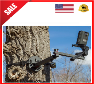 Tree Stand Camera Arm Hunting Deer Game Cam Holder  360 Steel Mount Portable NEW  free and fast delivery available