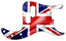 P Bass Precision Pickguard Custom Fender 13 Hole Guitar Pick Guard Flag UK Pat.