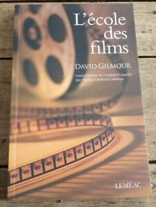 Soft-Cover-French-Book-L-039-ecole-des-Films-David-Gilmour-2008