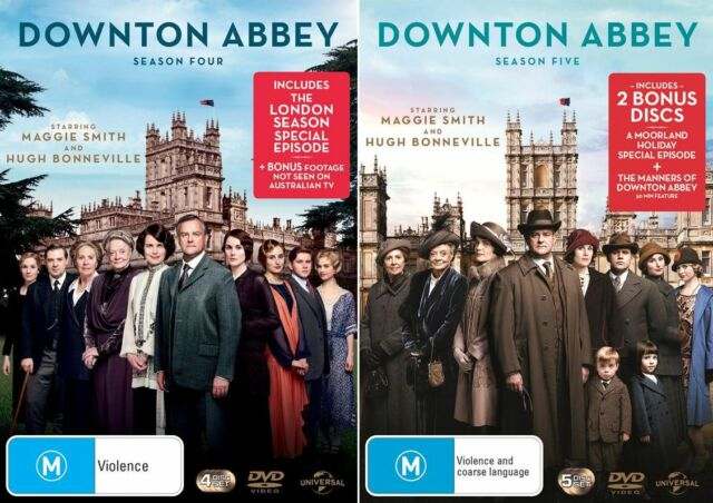 Downton Abbey Season  4 & 5 : NEW DVD