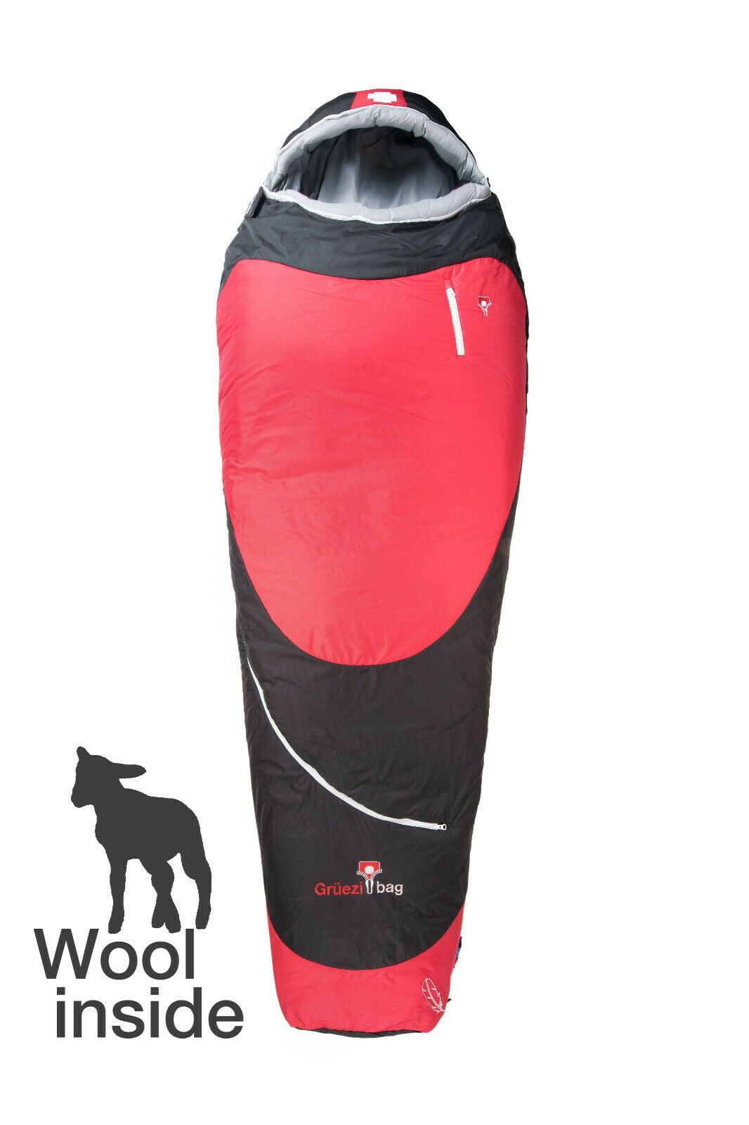 Grüezi Bag Biopod Hybrid Wool/Down 185 / -3°C 1200g grüezibag