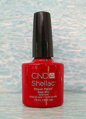 Cnd Shellac Gel Nail Polish Ruby Ritz Wildfire Valentime Duo Set For Sale Online Ebay