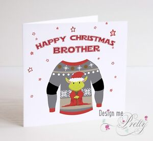 image is loading star wars christmas card with xmas jumper personalised