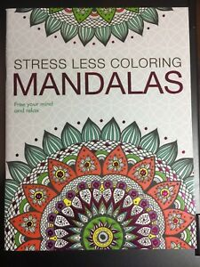 Details about STRESS LESS COLORING MANDALAS BOOK BRAND NEW ADULT DREAMS ART  PEACEFUL CREATIVE