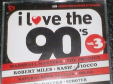 I LOVE THE 90's VOLUME 3 (2 CD + BONUS MIX CD) Deep Zone, 2 Unlimited, Rednex...
