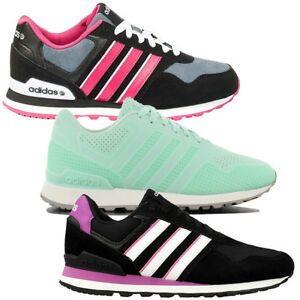 adidas 10K W Sneaker Damen Schuhe Sportschuhe Schwarz | eBay