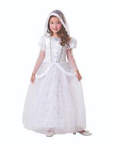 Kinder-Fairy-Marchen-Fantasie-Schneekonigin-Kostum-Kostum-3-Grosen-Buch-Woche