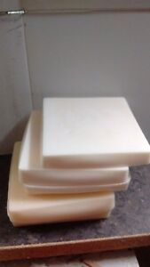 1.9kg WHITE UNSCENTED candle making wax.Not scrap.FREE wicks and instructions.