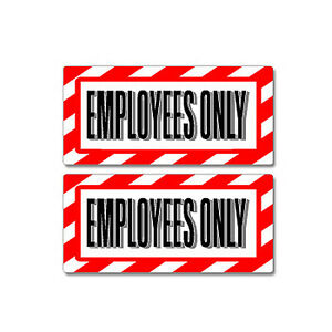 Employees-Only-Sign-Window-Business-Sticker-Set