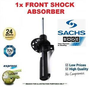 1x SACHS BOGE Front Axle SHOCK ABSORBER for VW TIGUAN 2.0 TDI 4motion 2008-2009