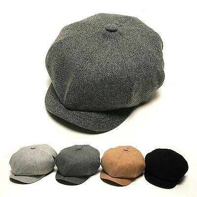 Unisex Mens Womens Girls Corduroy Cord Newsboy Bakerboy Gatsby French Beret Hats
