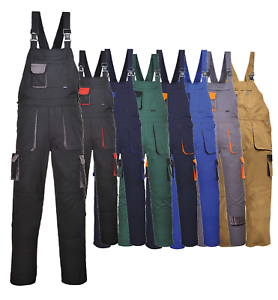 Able Workwear Contrast Trousers Portwest Elasticated Work Pants Texo Tx11 Kneepad Pants