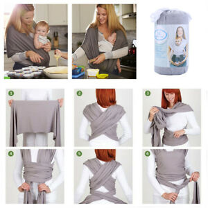 Baby Carrier Backpacks Sling Wrap Newborn Infant Sleeping Breastfeeding Belt UK
