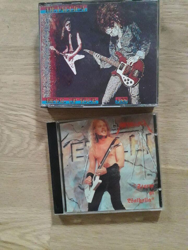 Metallica: Metallica bootleg og singler cd, heavy