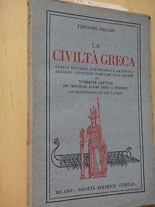 953e281193 Caricamento dell'immagine in corso 1928-LA-CIVILTA-039-GRECA -FERNANDO-PALAZZI-ARCHEOLOGIA-