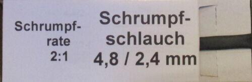 11m Schrumpfschlauch in Spenderbox 4,8//2,4 mm Wärmeschrumpfschlauch 1,18€//m