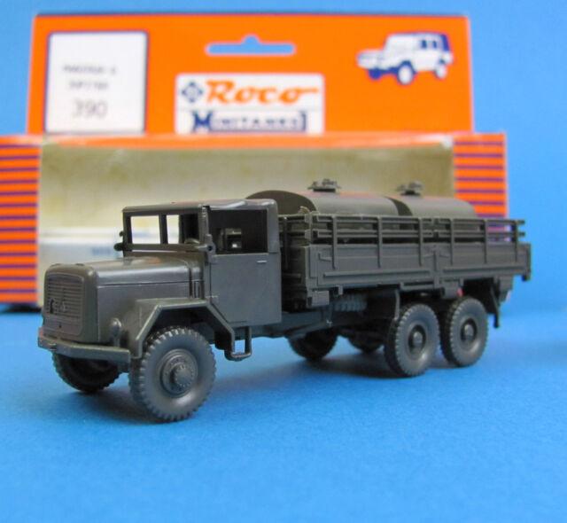 Roco Minitanks H0 390 MAGIRUS-DEUTZ Jupiter m. Tankanlage Bundeswehr HO 1:87 OVP