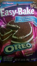 NEW Factory Sealed Easy Bake Oven Mixes Oreo Chocolate & Cream Cake Retired