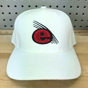 SIUE Cougars NCAA Basketball Flexfit S/M White Adult Baseball Ball Cap EUC Hat