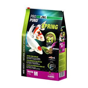 2 pièces Jbl Propond Spring M 2x, 2,1 kg de consommation économique, aliment de printemps pour Koi moyen