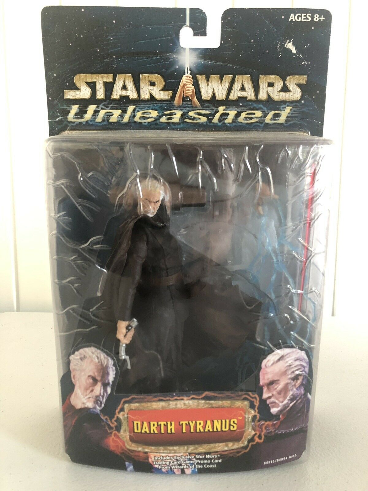 estrella guerras Unleashed Darth Tyranus Count Dooku cifra Sealed