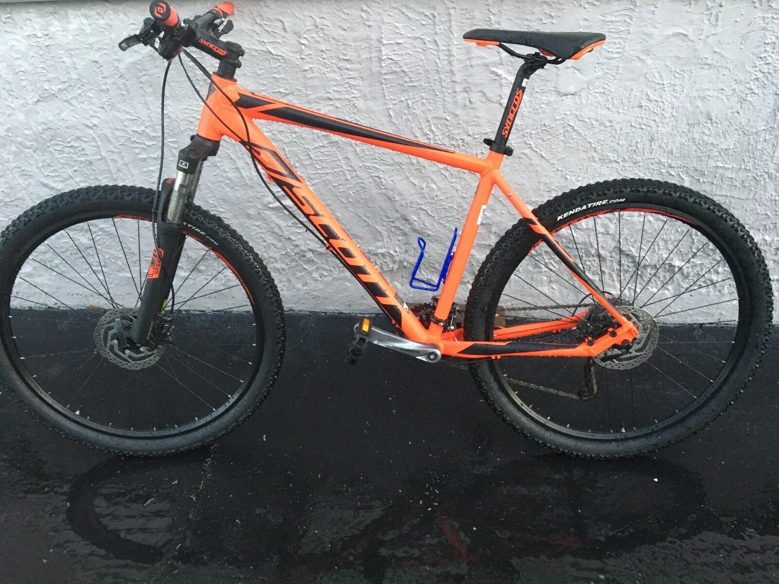 MOUNTAIN BIKE- Scott Aspect 740  size large  bought  new on September 22,2017.