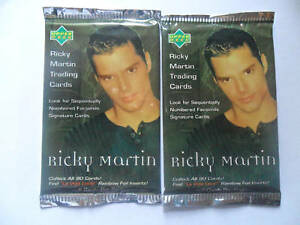 Unopened Pack MENUDO Latin Boy Band Music Trading Cards ~ Ricky Martin Verzamelingen Niet-sportkaarten