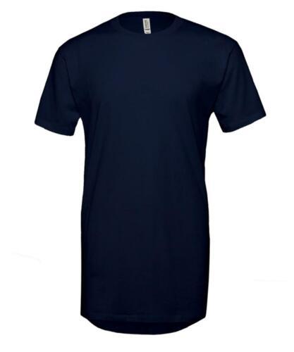 Bella Canvas Unisex Long Body Urban T-Shirt 3006 Short Sleeves Cotton Tee