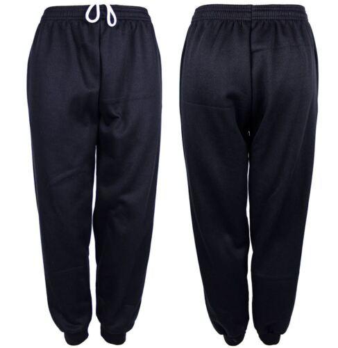 Kids Boys Fleece Trouser Childrens Joggers Joggings School Bottom Casual Pants