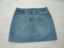 "George distressed / bleached denim style short / mini skirt W 30"" Size 12"