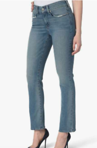 NWT  NYDJ Premium Denim Marilyn Straight Ankle Jeans Pacific Wash 6 8
