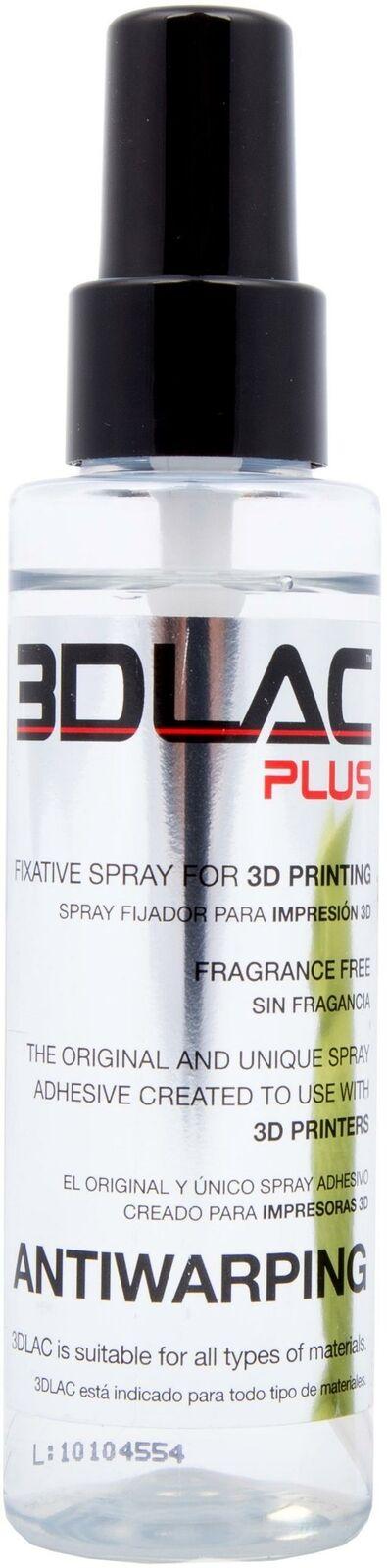 3DLAC Plus 3D Printer Adhesive, Antiwarping spray, Help Your 3D Prints To Stick