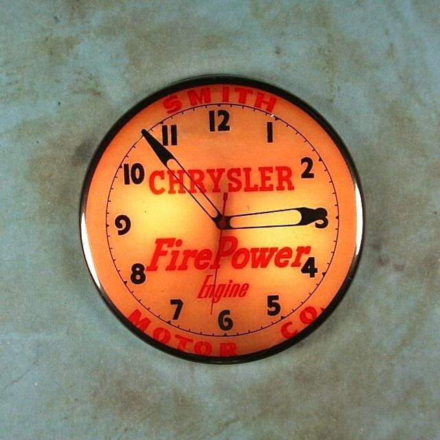 Classic Neon Clocks Collection On EBay
