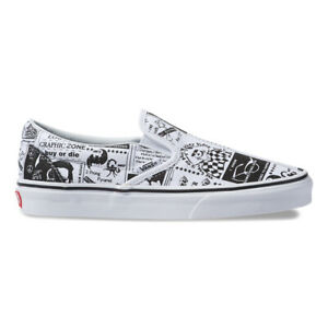 7dd94c17d52364 New VANS X ASHLEY WILLIAMS Slip-On White Sneakers Shoes Limited ...