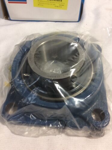 """NEW SKF FYM 2.15//16 TF Flange-Mounted Ball Bearing 4 Bolt Square 2 15//16/"""" Bore"""
