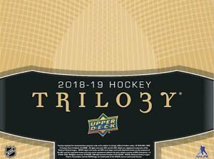 2018-19-Upper-Deck-Trilogy-Hockey-Cards-Pick-From-List-1-141-Includes-Rookies
