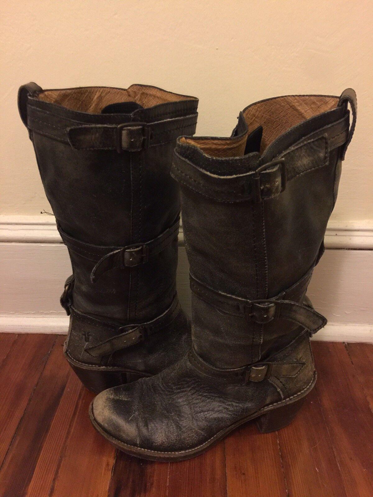 Frye Boots Women's Carmen 9.5 Vintage
