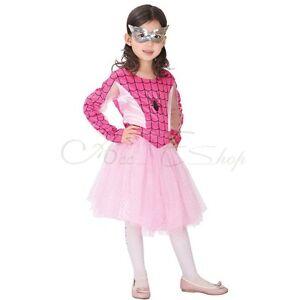 Kids-Spider-girl-Tutu-Dress-Girls-Spider-Man-Superhero-Halloween-Fancy-Costume