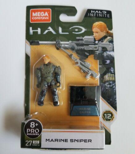 Mega Construx Halo Infinite PRO Builders12 Marine Sniper Mini Figure NEW